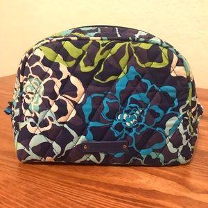 Vera Bradley Medium Cosmetic Bag- Katalina Blues